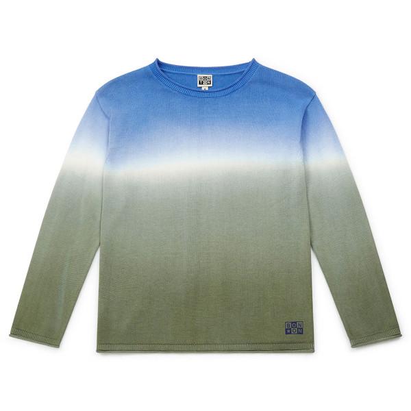 Pullover blau/grün