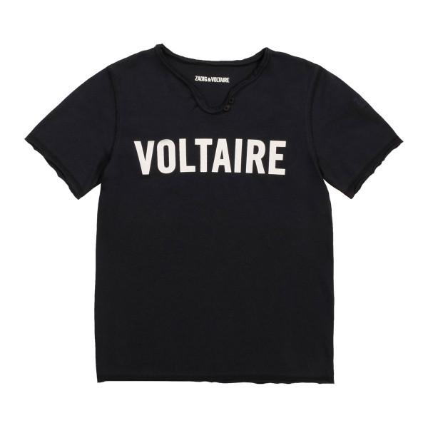T-Shirt navy Voltaire