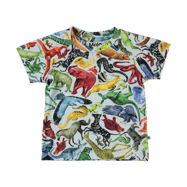 Baby T-Shirt Emmett Colourful Animals