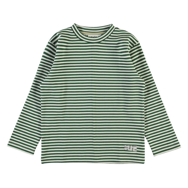 Longsleeve Mikhail Green Stripes