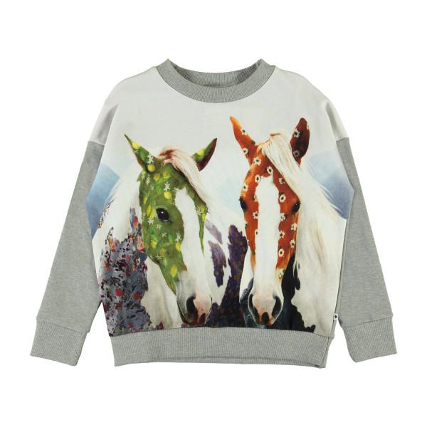 Sweatshirt Maxi Vintage Ponies