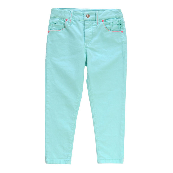 Jeans Skinny-Fit Stretch Stick türkis