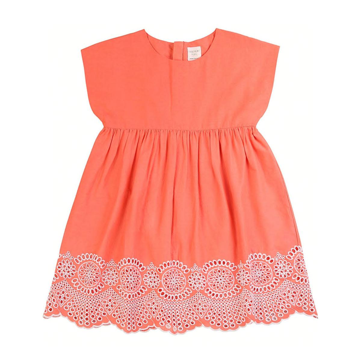 Kleid Apricot Kleider Kindermode Madchen Wunderlieb