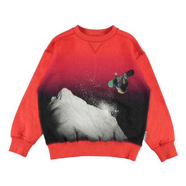 Sweatshirt Snowboarding rot