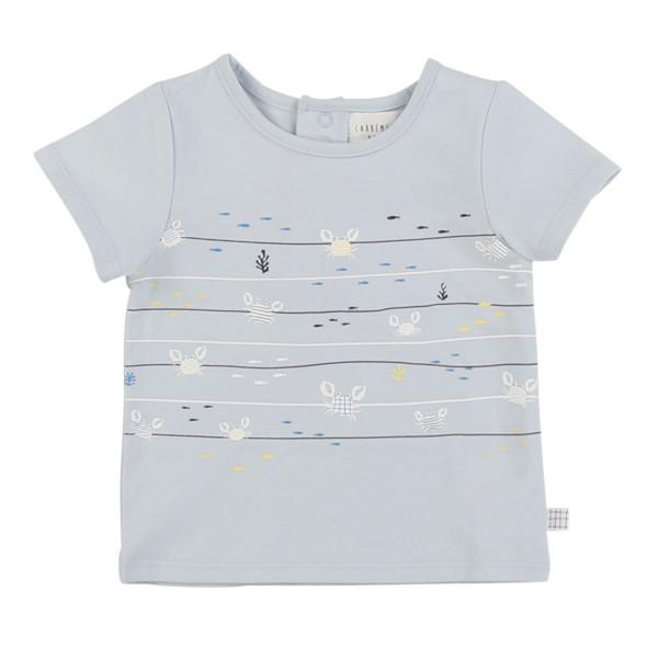 Baby T-Shirt hellblau