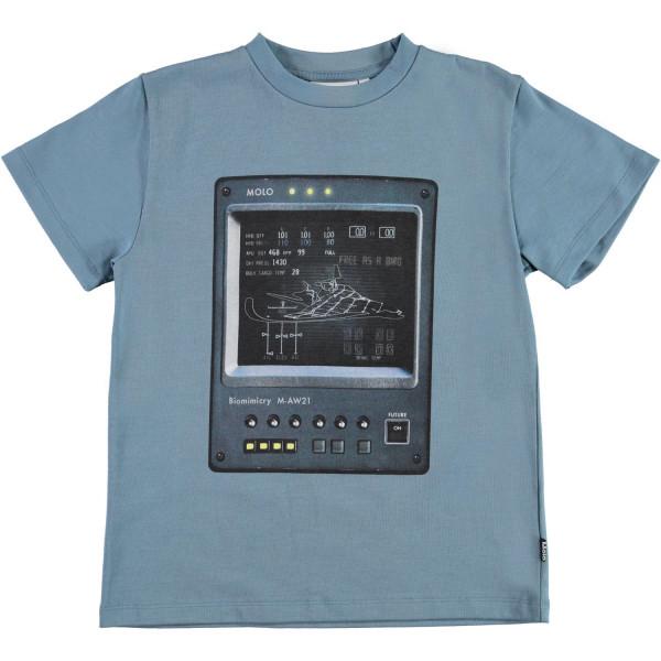 T-Shirt Roxo Computer Aero