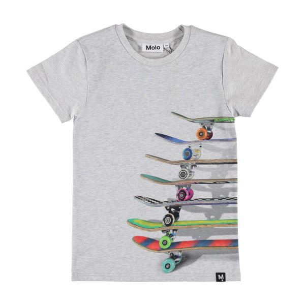 T-Shirt Raven Stacked Skateboards