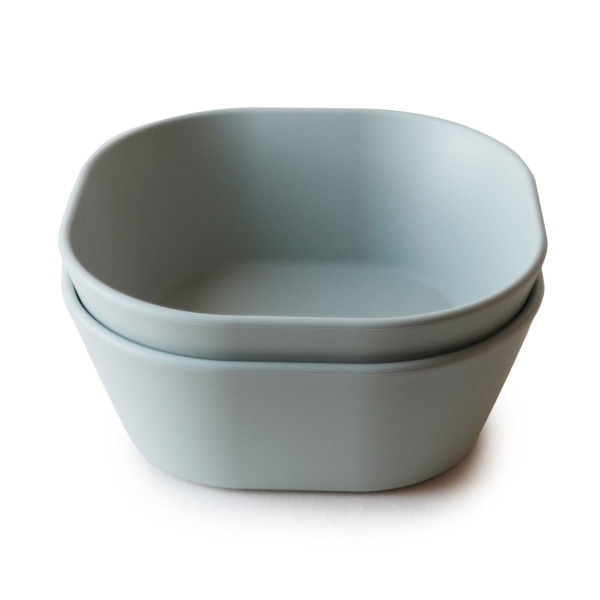Schüssel 2er Set 'Square Dinner Bowl Sage'