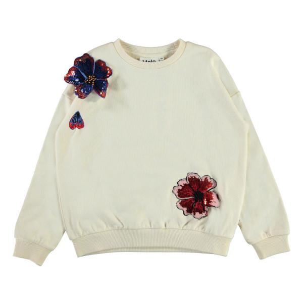 Sweatshirt Maja Pearled Ivory