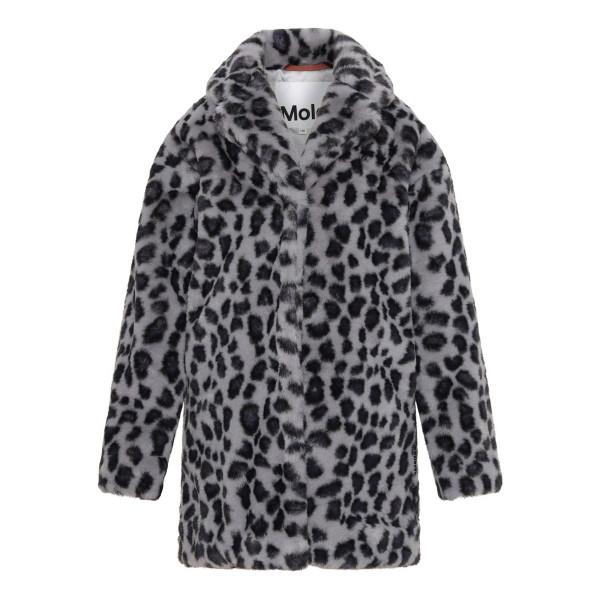 Wintermantel Haili 'Snowy Leo Fur'