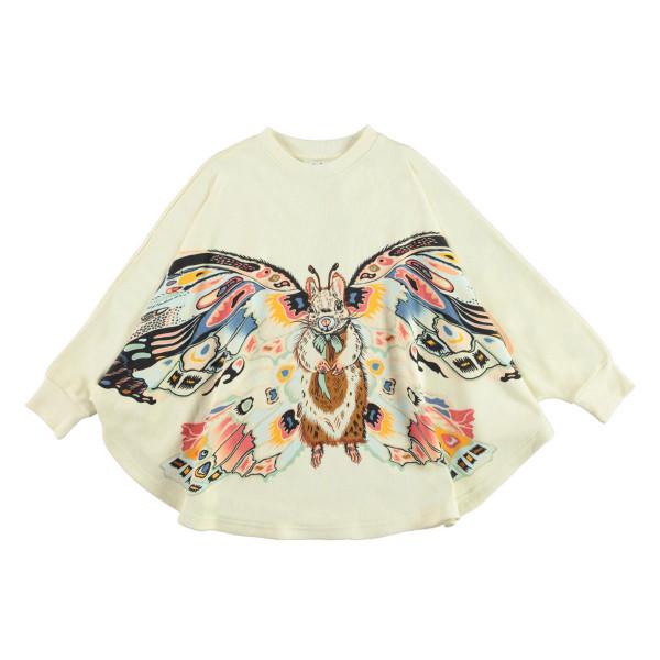 Sweatshirt Poncho Marcella Fluffy Wings