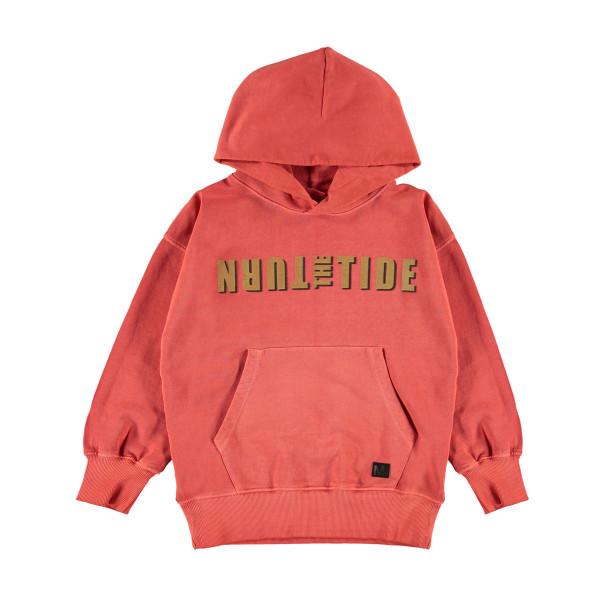 Sweatshirt mit Kapuze Moz Burnt Sienna