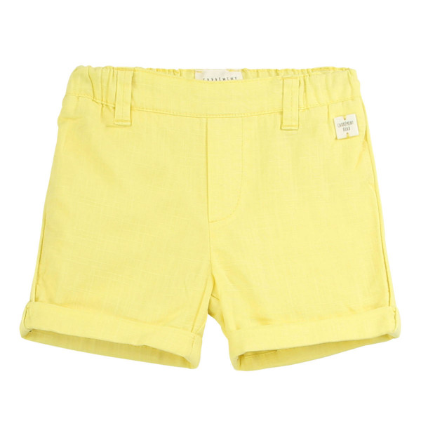 Baby Shorts gelb