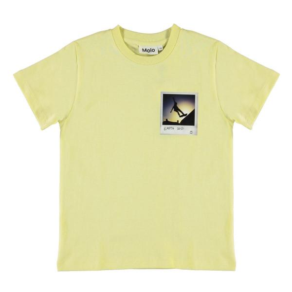 T-Shirt Roxo Skater Polaroid