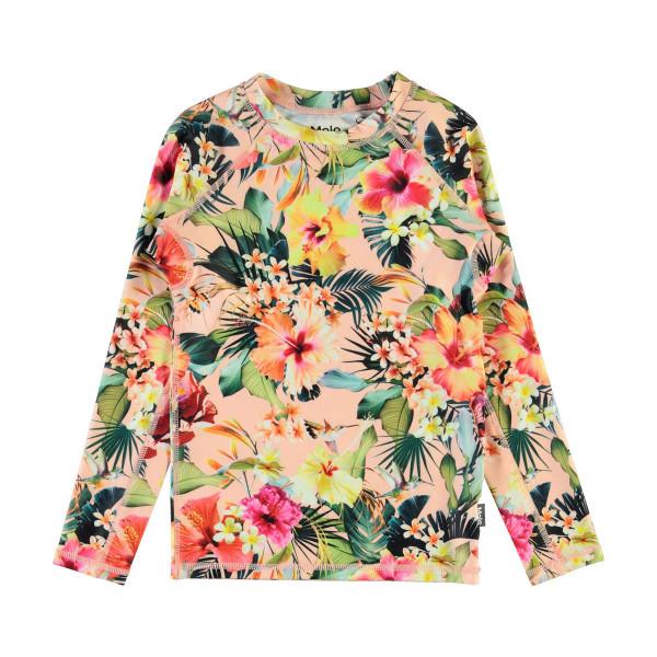 UV-Shirt Neptune Hawaiian Flowers