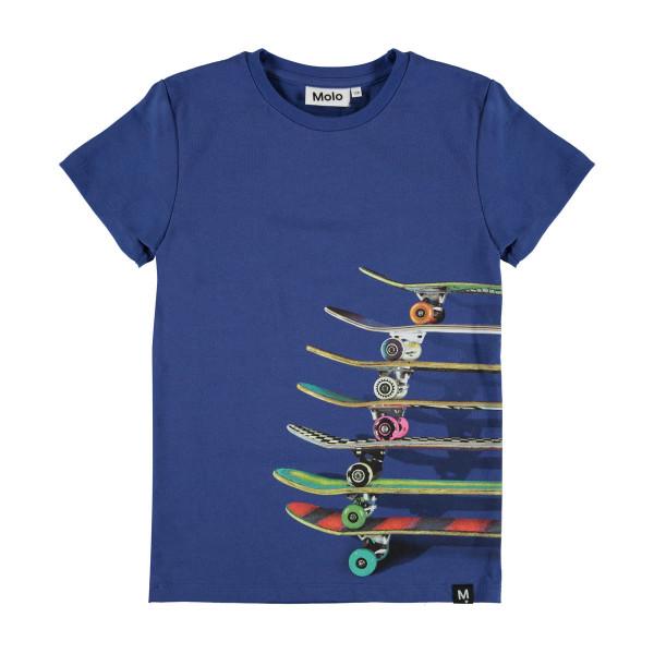 T-Shirt Raven Skatebords Blue