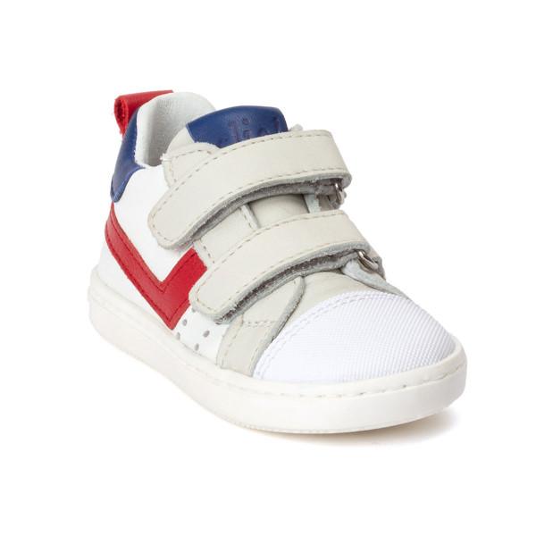 Sneaker mit Streifen rot