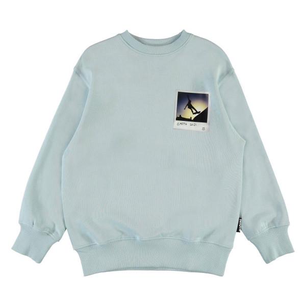 Sweatshirt Mattis Sterling Blue