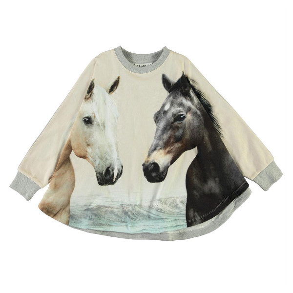 Sweatshirt Poncho Marcella Horse Friends