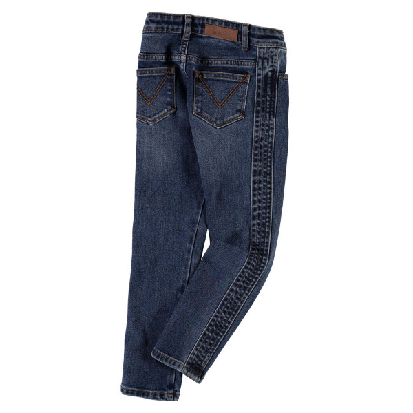 Jeans Adele Mid Blue Wash