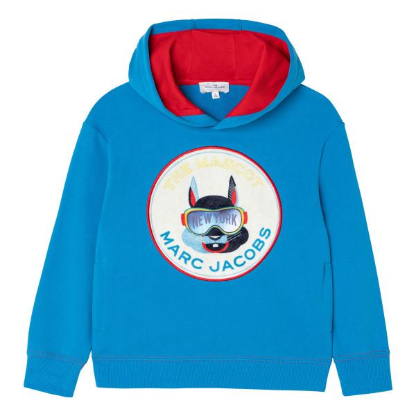 Sweatshirt 'The Mascot' blau