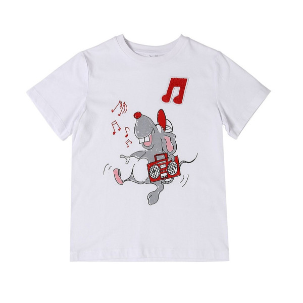 T-Shirt Mouse Pure White